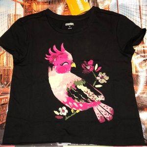 GYMBOREE Girls Parrot 🦜Tee